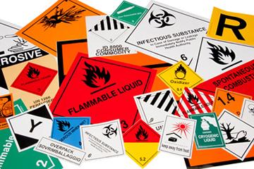 Servizio di consulenza per il trasporto su strada di merci pericolose